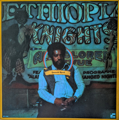 BYRD, DONALD : ETHIOPIAN KNIGHTS (1972) LP BLUE NOTE REISSUE 180 GRAM VINYL