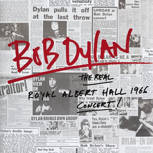 DYLAN , BOB : THE REAL ROYAL ALBERT HALL 1966 CONCERT (2016) 2LP 180 GRAM REISSUE
