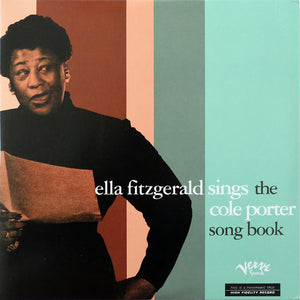 FITZGERALD, ELLA : SINGS THE COLE PORTER SONG BOOK (1956) 2LP REISSUE FROM ORIGINAL MASTER TAPES