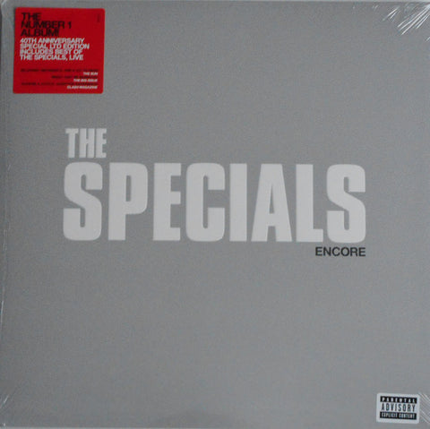 SPECIALS, THE : ENCORE (2019) 2LP LIMITED EDITION RED EDITION