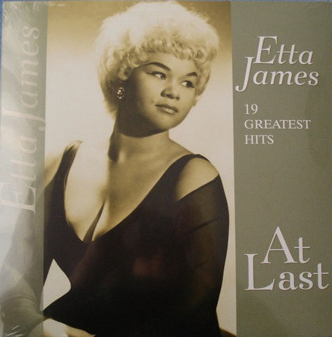 ETTA JAMES : AT LAST :19 GREATEST HITS (2013) LP