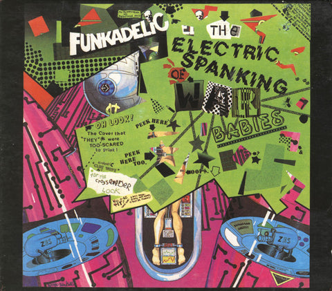 FUNKADELIC : THE ELECTRIC SPANKING OF WAR BABIES (1981) LP 2014 REISSUE