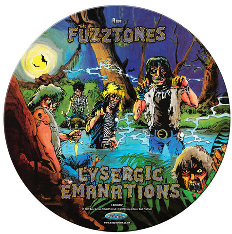 FUZZTONES , THE : LYSERGIC EMANATIONS  LP PICTURE DISC RSD AUGUST 2020 (2020) LP