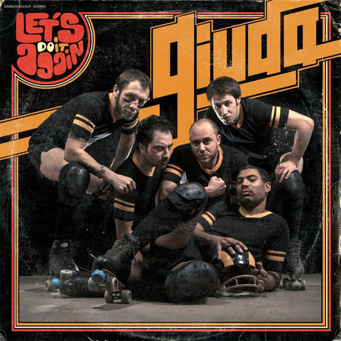 GIUDA : RACEY ROLLER (2013) LP ORANGE VINYL