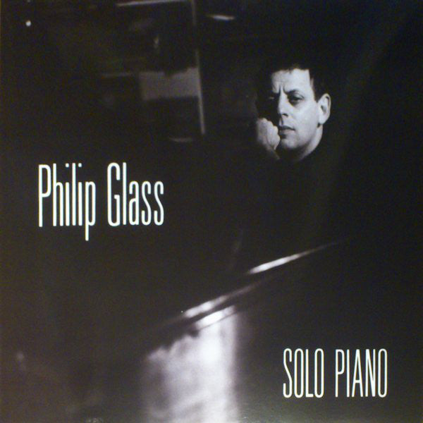 PHILIP GLASS  : SOLO PIANO  ( 2014 RE-ISSUE ) LP