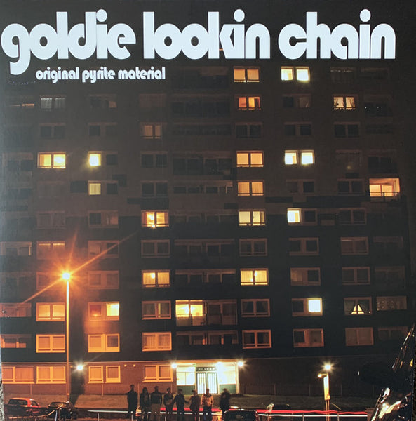 "GOLDIE LOOKING CHAIN : "" ORIGINAL PYRITE MATERIAL ""  LP RSD AUGUST 2020 (2020) LP"