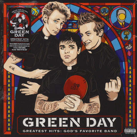 GREEN DAY : GREATEST HITS, GODS FAVORITE BAND (2017) 2LP