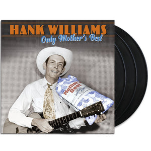 WILLIAMS, HANK : ONLY MOTHERS BEST 3LP TRIPLE GATEFOLD SLEEVE