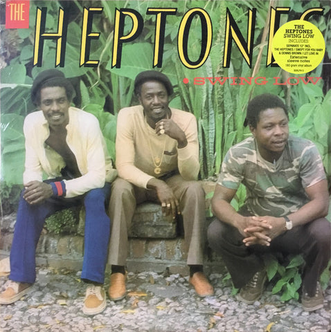 HEPTONES, THE : SWING LOW (1985) LP WITH BONUS 12 INCH SINGLE 2019 PRESSING