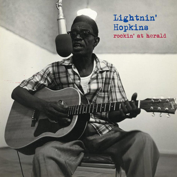 LIGHTNIN' HOPKINS : ROCKIN AT HERALD (2018) LP