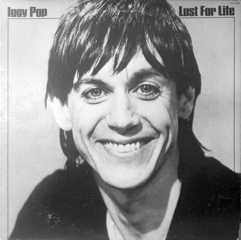 POP, IGGY : LUST FOR LIFE (1977) LP 2017 REISSUE