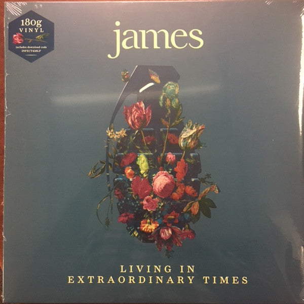 JAMES : LIVING IN EXTRAORDINARY TIMES (2018) 2LP 180 GRAM VINYL