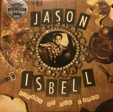 ISBELL , JASON : SIRENS OF THE DITCH (2007) LP HQ 180 GRAM BLACK VINYL
