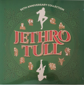 JETHRO TULL : 50TH ANNIVERSARY COLLECTION (2018) LP
