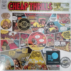 JOPLIN, JANIS & BIG BROTHER AND THE HOLDING COMPANY : CHEAP THRILLS (1968) LP 2018 STEREO REISSUE