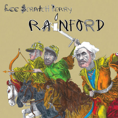 LEE SCRATCH PERRY : RAINFORD (2019) LP LIMITED GOLD VINYL EDITION