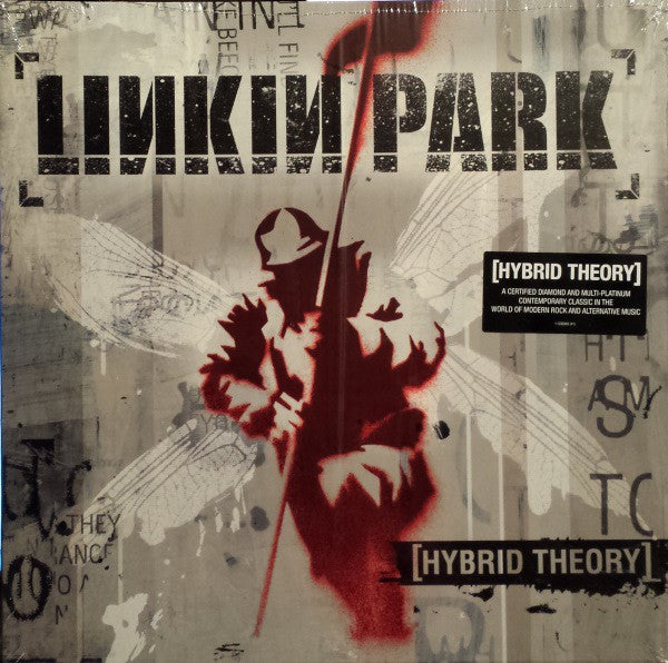 LINKIN PARK : HYBRID THEORY (2000) LP REISSUE IN GATEFOLD SLEEVE