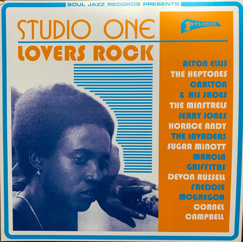 STUDIO ONE LOVERS ROCK : SOUL JAZZ RECORDS VARIOUS (2018) 2LP