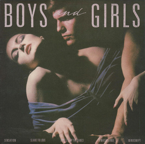 "FERRY , BYRAN  : "" BOYS AND GIRLS "" (1985) LP NEAR MINT VINYL LOOKS UNPLAYED"