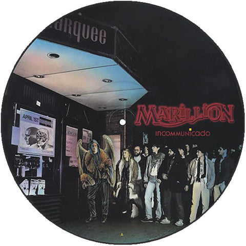 MARILLION : INCOMMUNICADO (1987) 12 INCH PICTURE DISC SPOTLESS