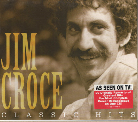 "CROCE , JIM : "" CLASSIC HITS ( U.K ISSUE CONSIDERED THE BEST SOUNDING REMASTER ) "" . CD ( BOX ) USED"