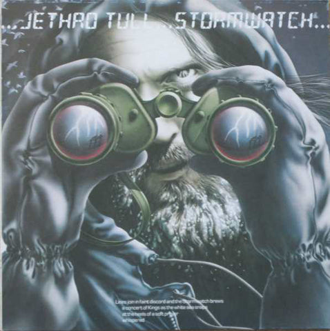 "JETHRO TULL : "" STORMWATCH "" (1979)  NEAR MINT - LOOKS UNPLAYED ITALIAN REISSUE"