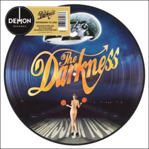 DARKNESS , THE : PERMISSION TO LAND ( RSD 2014 PICTURE DISC ) LP PICTURE DISC MINT.