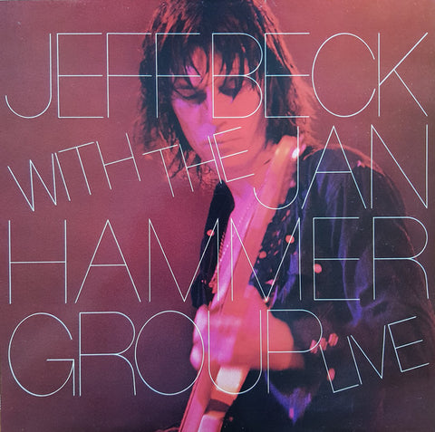 "BECK , JEFF & THE JAN HAMMER GROUP : "" LIVE "" ( 1977)  NEAR MINT"
