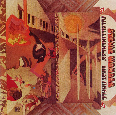 WONDER , STEVIE : FULFILLINGNESS FIRST FINALE (1974) ( BOX ) 2000 REMASTERED REISSUE