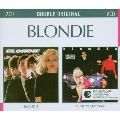 BLONDIE : BLONDIE & PLASTIC LETTERS REMASTERS ( BOTH WITH EXTRA TRACKS ) (2003) ( BOX ) 2 CD SET