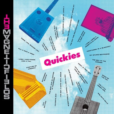 MAGNETIC FIELDS , THE : QUICKIES (2020) LP LIMITED COLORED VINYL - BLACK FRIDAY 2020 1000 WORLDWIDE