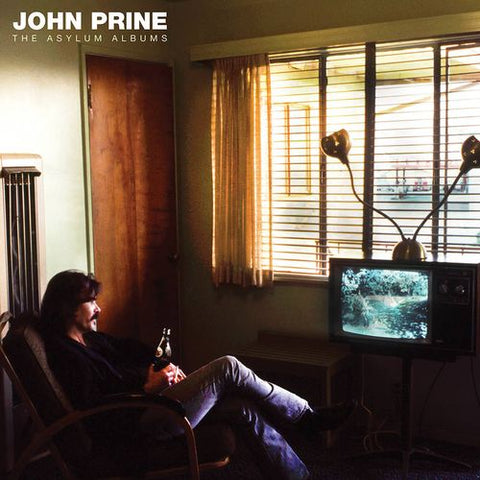 PRINE , JOHN : THE ASYLUM ALBUMS (2020) 3LP HARD CASE BOX SET - BLACK FRIDAY 2020 4,000 WORLDWIDE