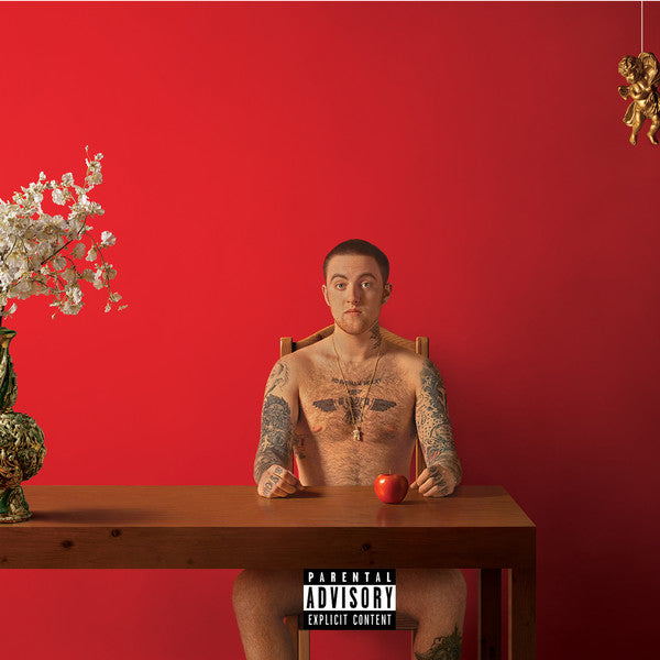 "MAC MILLER : "" WATCHING MOVIES WITH THE SOUND OFF "" (2016 ) 2 X LP LIMITED EDITION"