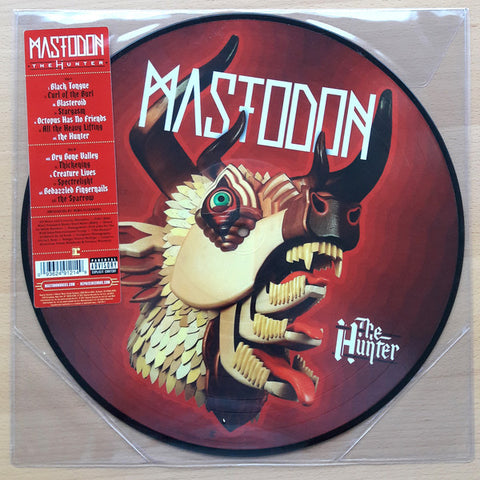 MASTODON : THE HUNTER PICTURE DISC (2017) LP PICTURE DISC