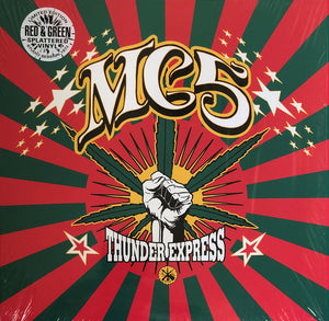 MC5 : THUNDER EXPRESS (1999) LP 2018 SPLATTERED VINYL REISSUE