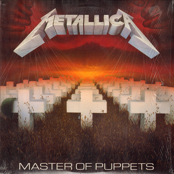 METALLICA : MASTER OF PUPPETS (1986) LP REMASTERED REISSUE 2016