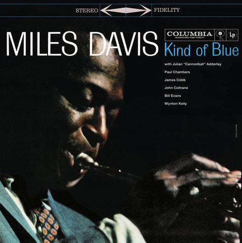 DAVIS, MILES : KIND OF BLUE (1959) 2015 LP REPRESS 180 GRAM