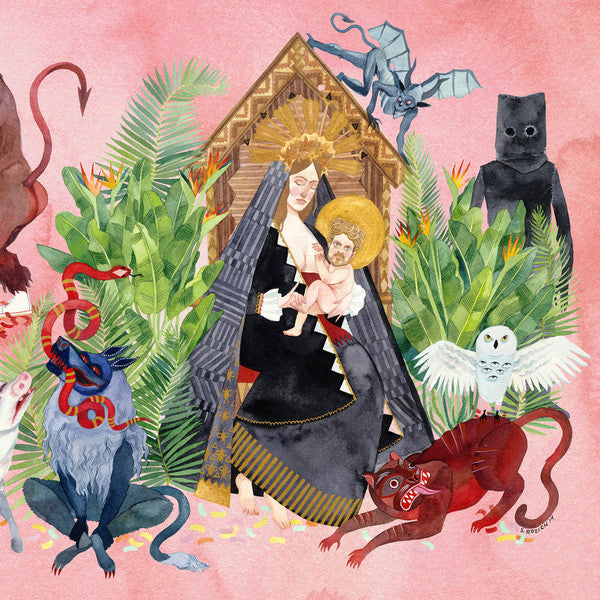 FATHER JOHN MISTY : I LOVE YOU HONEYBEAR (2015) 2LP