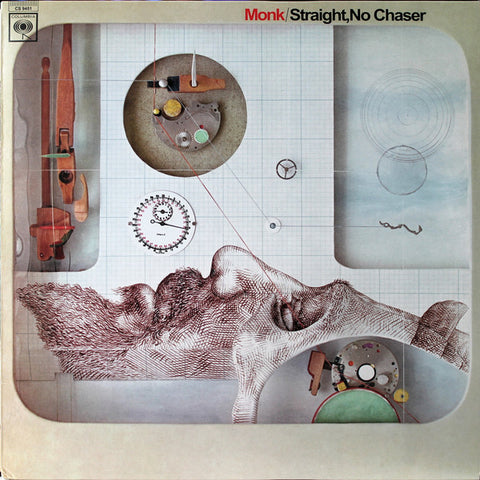 MONK , THELONIOUS : STRAIGHT  NO CHASER (1967) 2013 REMASTERED REISSUE 180 GRAM VINYL