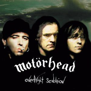 MOTORHEAD : OVERNIGHT SENSATION (1996) LP 2016 REISSUE