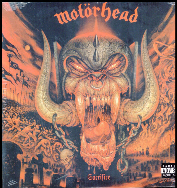 MOTORHEAD : SACRIFICE (1995) LP 2019 REISSUE