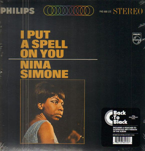 SIMONE, NINA : I PUT A SPELL ON YOU (1965) LP 2016 REISSUE 180 GRAM VINYL