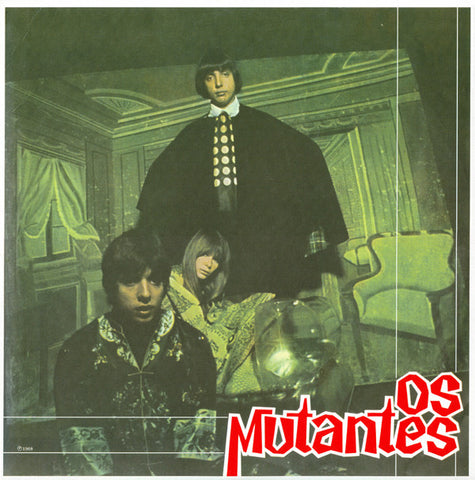 OS MUTANTES : OS MUTANTES (1968) LP 2007 REISSUE  180 GRAM WITH CD