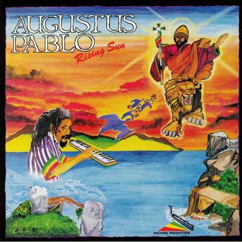 PABLO, AUGUSTUS : RISING STAR (1986) LP 2020 GREENSLEVES REISSUE