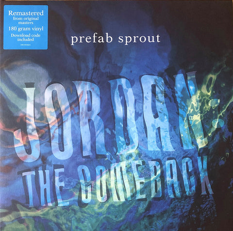 PREFAB SPROUT : JORDON , THE COMEBACK (1990) LP 2019 REMASTERED REISSUE GATEFOLD SLEEVE