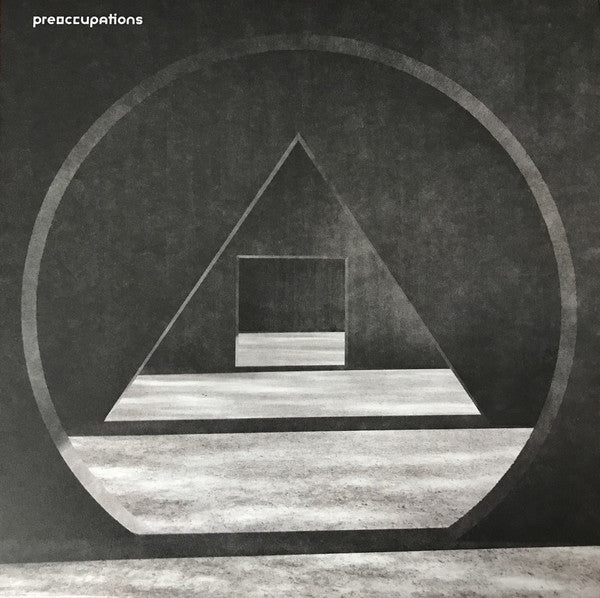 PREOCCUPATIONS : NEW MATERIAL (2018) LP LIMITED EDITION GREY MARBLE EDITION