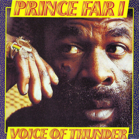 PRINCE FAR I : VOICE OF THUNDER (1981) LP 2018 REPRESS ON GET ON DOWN RECORDS