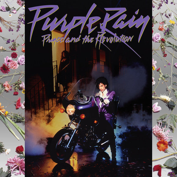 PRINCE & THE REVOLUTION : PURPLE RAIN ( 2015 REMASTERING ) (1984) LP 2017 RELEASE WITH POSTER