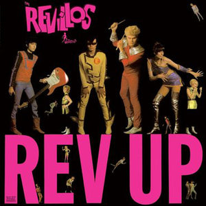 REVILLOS, THE : REV IT UP (1980) LP 2019 REISSUE WITH FOLD OUT POSTER