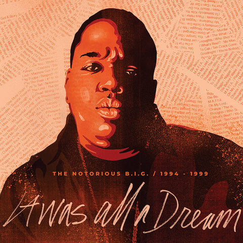 "BIGGIE / NOTORIOUS B.I.G : "" IT WAS ALL A DREAM "" - RSD SEPTEMBER 26TH 2020 (2020) 9LP CLEAR VINYL 2,000 WORLDWIDE"
